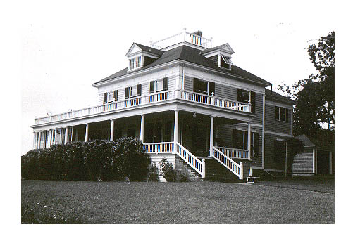 the West Cop house on the Vineyard, 1949